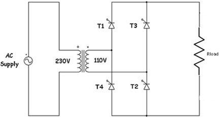 single phase full wave controlled rectifier
